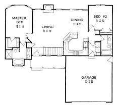 Split Level Ranch Floor Plans by Almost Perfect Square Feet 1179 Sq Ft Bedrooms 2 Baths 2 00