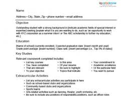 Scholarship Resume Examples by Student Resume Example Awesome Design Student Resumes 12 Sample