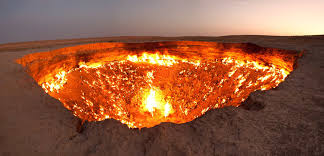 Image result for door to hell turkmenistan