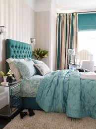 diy tufted headboard elegant ideas with teal pictures design