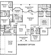 Ranch Style House Plans With Basement by Open Ranch Style Floor Plan With Full Finished Basement Single
