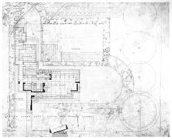 Massive House Plans by House Plans The Tallahassee House Designed By Frank Lloyd Wright
