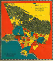 Los Angeles County Map by Map Of The Old Spanish And Mexican Ranchos Of Los Angeles U2026 Flickr