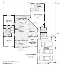 valuable ideas one story house plans under 2300 square feet 2 sq