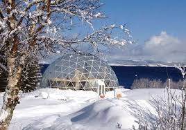 Japanese Dome House Geodesic Dome Protects Cob House U0026 Family Of 6 In Arctic Circle