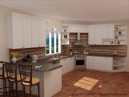Brick Tiles For Backsplash In Kitchen by Kitchen Cherry Cabinets Granite Countertops Natural Slate
