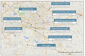 Raleigh Map Locations Map Wake Technical Community College