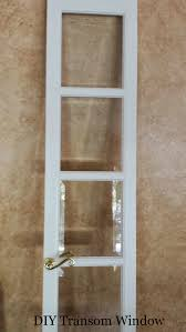 Transom Window Above Door Diy Transom Window Entryway Idea