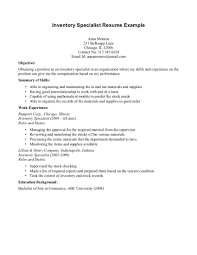 Junior Accountant Resume Sample by Inventory Accountant Resume Sample Virtren Com