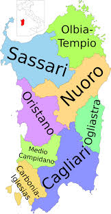Italy Region Map by File Map Of Region Of Sardinia Italy With Provinces It Svg