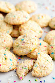 Halloween Cake Mix Cookies by How To Make Funfetti Cookies Video Delish Com