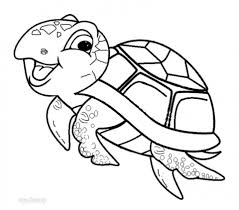 get this picture of turtle coloring pages free for children upmly