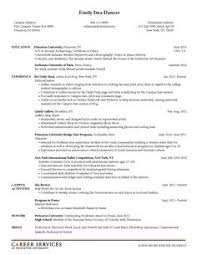 Sample Resumes Career ServicesSample Resumes Cover Letter Examples
