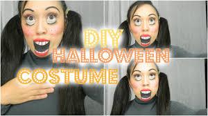 Halloween Doll Makeup Ideas by Easy Diy Halloween Costumes Creepy Doll Makeup Tutorial Youtube