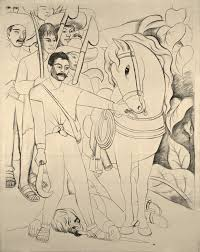 Mural Painting Sketches by Agrarian Leader Zapata Murals For The Museum Of Modern Art