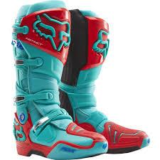 green motocross boots all new fox racing 2015 limited edition instinct boots aqua wide