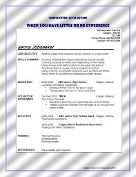sample bank teller resume how to write a resume with no prior work experience sample resume for college student with little experience sample assistant resume high school resume no work
