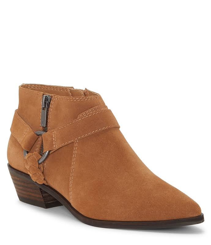 Lucky Brand Enitha Harness Bootie, Adult,