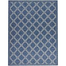 Multicolor Rug Nourison Aloha Multicolor 9 Ft 6 In X 13 Ft Indoor Outdoor Area