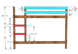 Plans For Bunk Bed With Steps by Ana White Classic Bunk Beds Diy Projects