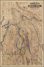 Map Of Utah And Colorado by Map Of The Canadian Pacific Railway Kootenay District British
