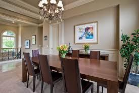 Dining Room Ceiling Fan by Modern Dining Room With Chandelier U0026 Ceiling Fan In Bellevue Wa