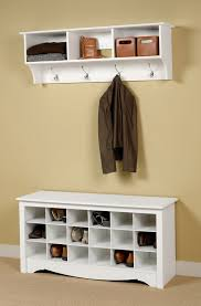 Storage Bench With Hooks by Entryway Bench With Storage And Hooks Home Design Ideas