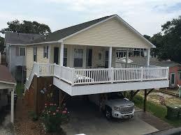 Raised Beach House by V 7 3 Bedroom 2 Bath Raised Beach House Golf Cart Included