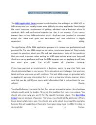 what it takes to write the best mba essays features custom college essay what it