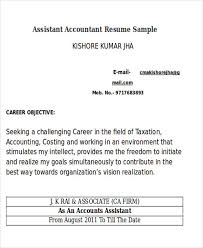 Tax Accountant Sample Resume by 33 Accountant Resumes In Doc Free U0026 Premium Templates