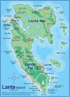 KOH LANTA Map - Amazing Lanta