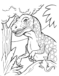 baby dinosaur coloring pages 4348 bestofcoloring com