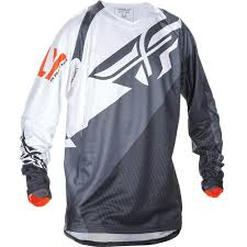 black motocross jersey fly racing 2017 evolution 2 0 black white orange jersey mxstore