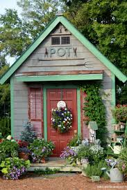 14 whimsical garden shed designs storage shed plans u0026 pictures