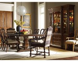 Thomasville Dining Room Chairs by Ernest Hemingway Paladar Double Trestle Dining Table Maduro