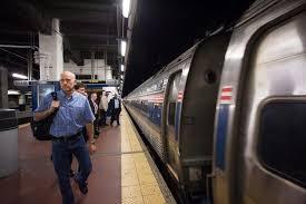 Passengers board the first Philadelphia New York City train since the derailment  New York Daily News