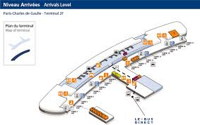 Charles De Gaulle Airport Map Getting To Our Bus Stop In Terminal Ef Of Roissy Cdg Direction