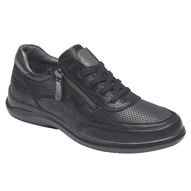 Aravon Power Comfort Tie Sneaker, Adult,