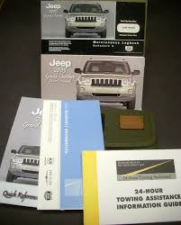 jeep grand cherokee owners manual w maintenance logbook u0026 fabric pouch