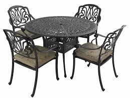 Cast Iron Patio Set Table Chairs Garden Furniture - hartman beaumont 4 seater round set garden furniture 4 seater
