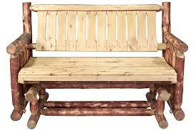 Outdoor Furniture Finish by Pine Log Outdoor Furniture