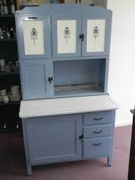best model of primitive kitchen cabinets with blue colors 7007