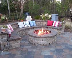 How To Make A Fire Pit In Backyard by By The Garage Perfect For Bon Fires Grilling And Just Hanging