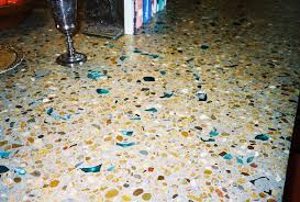 decorating pretty recycled glass countertop by vetrazzo