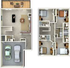 House Plans 2 Story by 4 Bedroom 4 5 Bathroom Th 2 Story