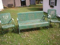 i u0027ve always wanted a vintage porch glider and i finally got one