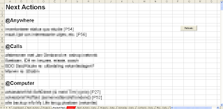 How To Unlock Excel Spreadsheet Implementing Gtd With Excel Getting Things Done