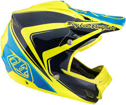 troy lee designs motocross helmet troy lee designs bmx gear troy lee designs se3 neptune yellow