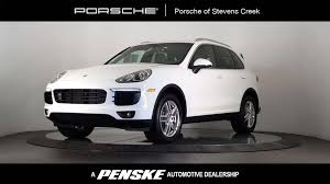 Porsche Cayenne Towing Capacity - 2016 used porsche cayenne awd 4dr at porsche of stevens creek