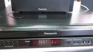 panasonic home theater system panasonic dvd home theater sound system test youtube
